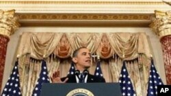 Le président Obama au département d'Etat