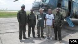 კონგოელი სამხედრო მფრინავები და მათი ქართველი ინსტრუქტორები