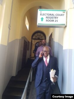 Tendai Biti in court