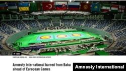 Amnesty İnternational-Baku2015