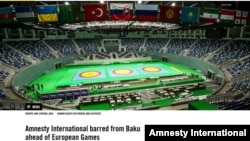 Amnesty İnternational-Baku2015