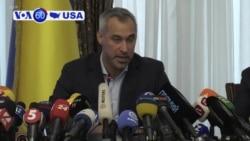 VOA60 America - Ukraine Reviews Case Into Company That Employed Biden Son