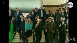 Reyaksyon Rejim Maduro a sou Desizyon Etazini Pran pou Mete Plis Sanksyon sou Venezuela
