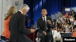 Presiden Barack Obama membahas isu imigrasi di jaringan televisi AS 'Univision' yang berbahasa Spanyol hari Kamis (20/9).