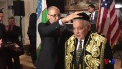 """Abdulla Xo'ja """"Do'stlik"""" ordeni bilan mukofotlandi"""