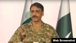 پاکستان فوج کے ترجمان میجرجنرل آصف غفور، فائل فوٹو
