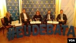 """Sa debate """"Može li Srbija ka EU bez rešavanja pitanja Kosova"""" , Foto: VOA, (ilustracija)"""