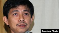 Tù nhân lương tâm Trần Huỳnh Duy Thức.