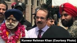 بھاتی سکھ یاتریوں کی جوڑ میلے میں شرکت کے لیے پاکستان آمد
