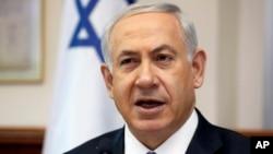 PM Benjamin Netanyanyu hari Minggu (15/6) menyalahkan Hamas atas penculikan 3 remaja Israel (foto: dok).