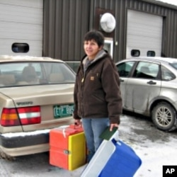 Maryterese Briggs delivers meals - and conversation - to clients three days a week.