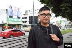 香港攝影師林健恆。(美國之音湯惠芸攝)