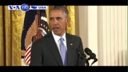 TT Obama trả lời họp báo về thoả thuận hạt nhân Iran (VOA60)