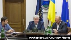 Генпрокурор України Віктор Шокін