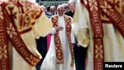 2016年6月24日教宗方济各抵达亚美尼亚访问。
