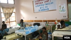 Malawian women at a UNFPA funded fistula camp, Zomba Central Hospital, Blantyre, Malawi (Lameck Masina for VOA).