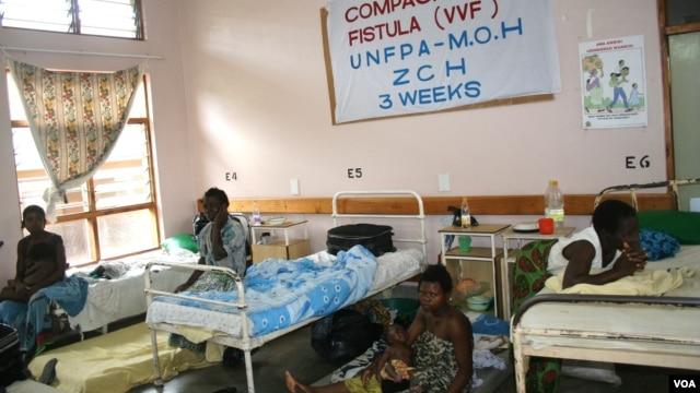 Malawian women at a UNFPA funded fistula camp, Zomba Central Hospital, Blantyre, Malawi (Lameck Masina for VOA).