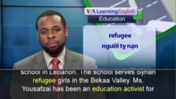 Anh ngữ đặc biệt: Malala: Books Not Bullets (VOA)