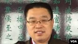中国异议作家杜导斌 (资料图片)