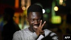 Le rappeur ivoirien Bop de Narr sur scène pour un concert lors du festival de culture urbaine Festi Primud 2018, à Abidjan, le 24 août 2018.
