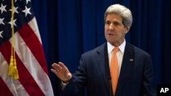 """""""James Foley fue a los lugares más oscuros a brillar la luz de la verdad"""", dijo el secretario de Estado de EE.UU. John Kerry."""