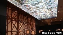 Копия потолка Сикстинской капеллы