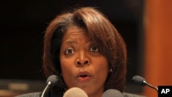 U.N. World Food Programme Director Ertharin Cousin. (File photo).