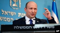 PM Israel Naftali Bennett