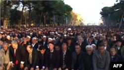 Tiranë: Festohet Kurban Bajrami në Parkun Rinia