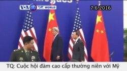 Hội đàm cao cấp thường niên Mỹ-Trung kết thúc (VOA60)