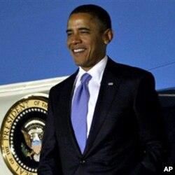 President Barack Obama arrives to attend the G-20 Summit in Seoul, South Korea, Wednesday, Nov. 10, 2010.