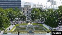 بنای یادبود قربانیان بمباران اتمی هیروشیما