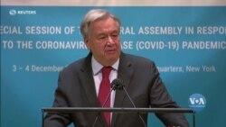 Права людини мають бути у центрі боротьби світу проти пандемії, - Ґуттереш. Відео