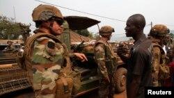 Tropas francesas na República Centro Africana