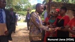 Mutungamiri weMDC VaNelson Chamisa kuChinhoyi