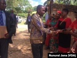 MDC President Nelson Chamisa In Chinhoyi