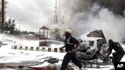 Fashewar bomb a Najeriya a kwanakin baya kafin harin jiya lahadi da aka kai garin Maiduguri
