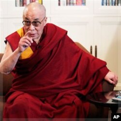 西藏精神領袖達賴喇嘛(資料照片)