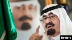 عبدالله بن عبدالعزیز آل سعود، پادشاه عربستان