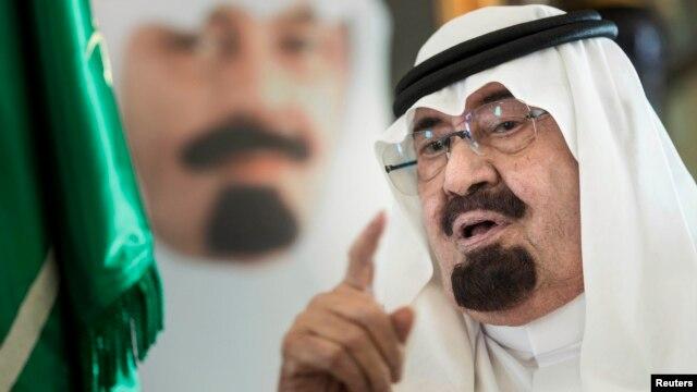 FILE - Saudi King Abdullah bin Abdulaziz al-Saud.