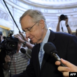 Garri Rid, Senatda hukmron demokratlar sardori
