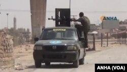واکنش نیروهای کرد در حسکه به حملات ارتش سوریه