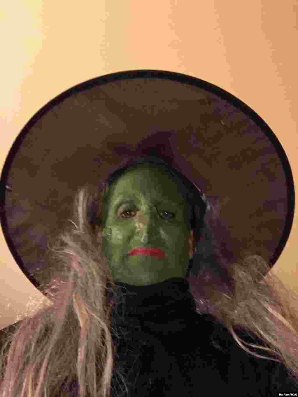 ShirinKrystin Roy a Ranar wasan Halloween, Gaithersburg, Maryland Ranar 31 Oktoba 2019.