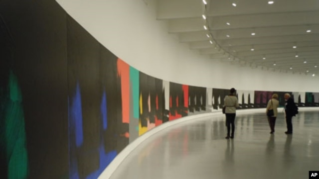 """Andy Warhol: Shadows,"" at the Hirshhorn Museum, features work from the last decade of the artist's life."