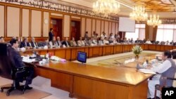 وزیر اعظم کی زیرصدارت وفاقی کابینہ کا اجلاس