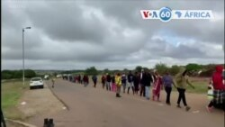 Manchetes africanas 30 abril: Milhares fazem fila para receber comida na África do Sul