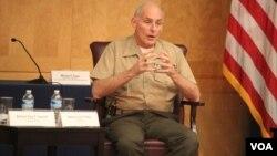 El general John Kelly, jefe del Comando Sur de EE.UU., asegura que en Venezuela los medios de comunicación tienen problemas reales para ejercer con libertad.
