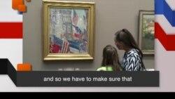 Học từ vựng qua bản tin ngắn: Museum (VOA)