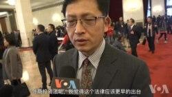 中国两会现场:代表委员看外商投资法 避谈结构性改革