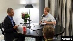 Bivši predsjednik SAD Barack Obama kao gost princa Harryja u programu BBC radija.